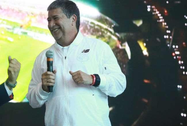El técnico de la selección de Panamá. Foto: Anayansi Gamez
