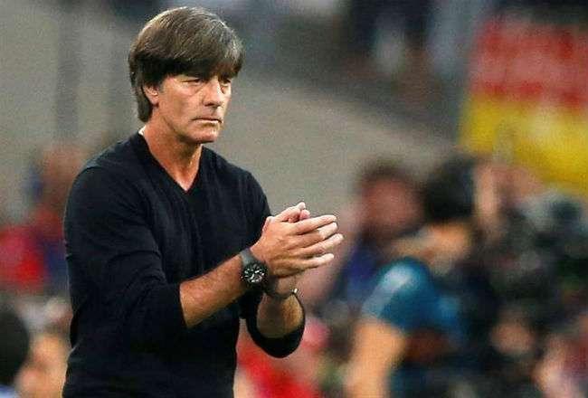 El entrenador Joachim Löw.