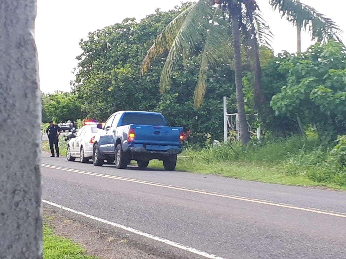 Este hecho provocó un operativo por parte de la Policía Nacional y se logró decomisar dos armas de fuego. foto: Zenaida Vásquez