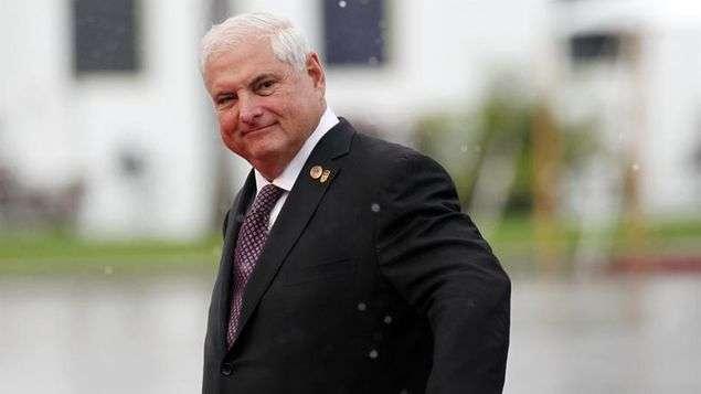Expresidente Ricardo Martinelli Berrocal.