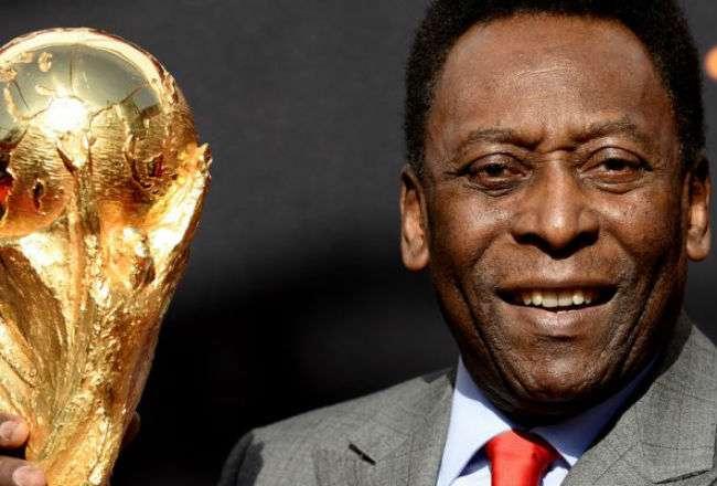 Edson Arantes do Nascimento, conocido como Pelé.