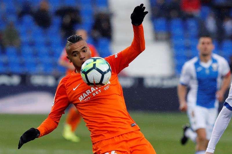 Youssef En-Nesyri entra en la lista definitiva de Marruecos para el Mundial. Foto EFE