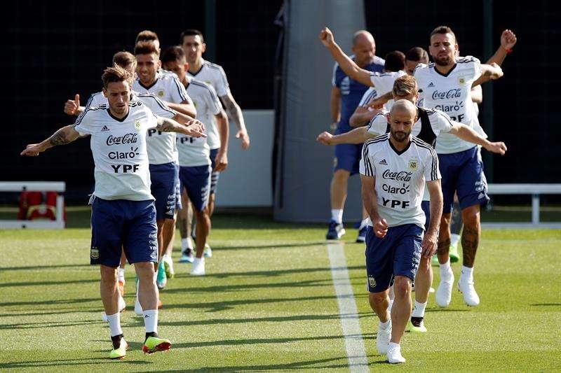 La selección Argentina tomó la decisión de no viajar a Jerusalén por las amenazas que recibió el equipo suramericano. Foto EFE