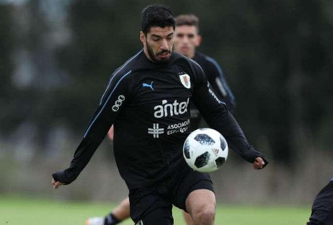 El jugador uruguayo Luis Suárez. Foto: EFE