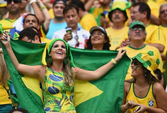 Los hinchas brasileños tendrán que ser prudentes.