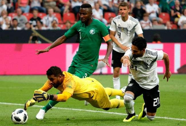 Alemania le ganó 2-1 a Arabia Saudi Foto: EFE