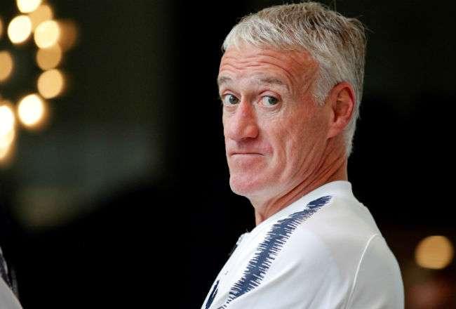 El seleccionador galo, Didier Deschamps. Foto: EFE