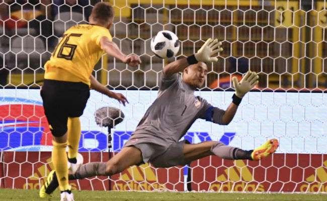 La selección de Costa Rica perdió por marcador de 4-1. Foto: AP