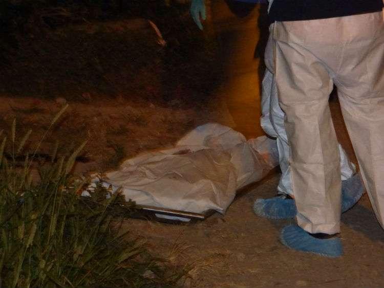 El levantamiento del cuerpo lo realizó la personería de Tolé, con funcionarios de Criminalística. Foto: Mayra Madrid