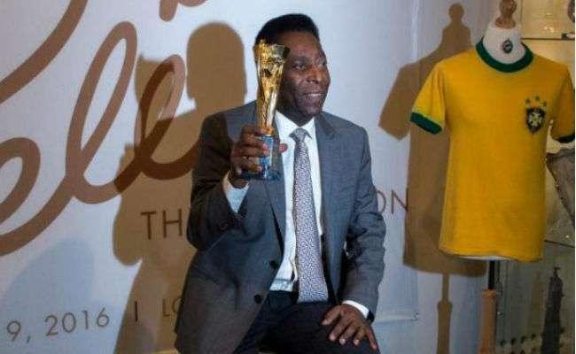 El exjugador brasileño Pelé. Foto: EFE