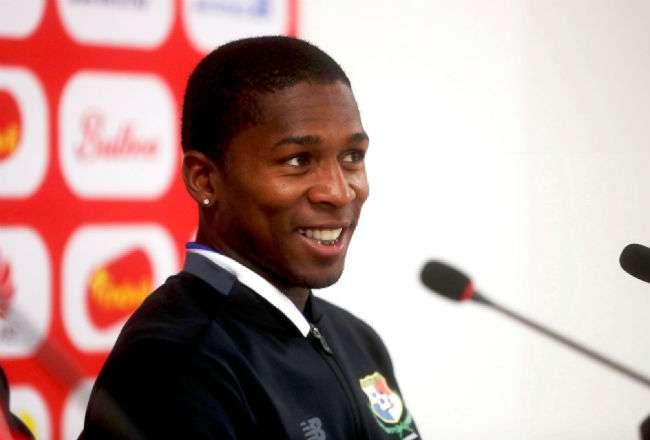 El jugadorde la Selección de Fútbol de Panamá, Armando Cooper. Foto: EFE