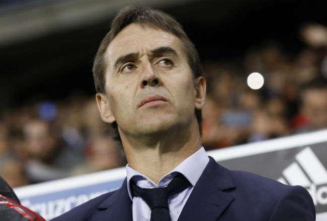 Julen Lopetegui estaba en su primera experiencia como entrenador de la selección mayor de España.