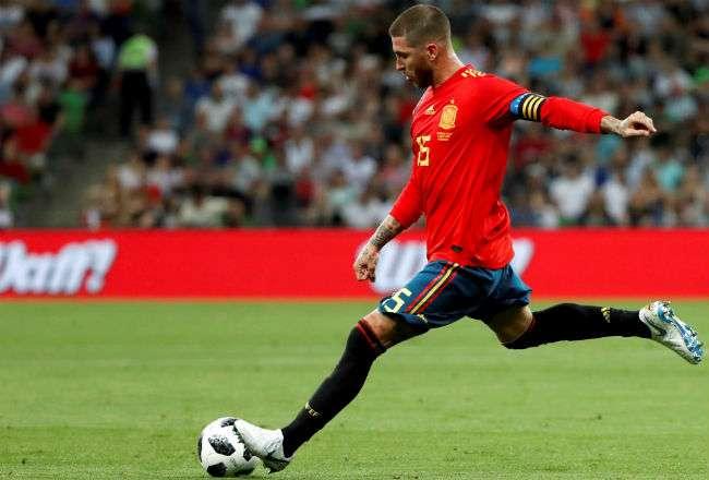 Sergio Ramos es el capitán de la selección de España.
