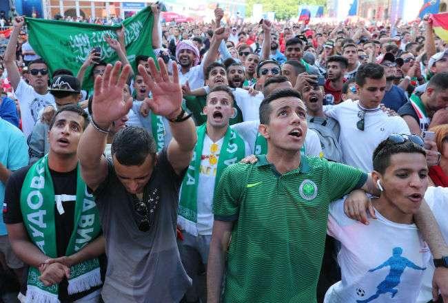 Los fanáticos están dolidos por el resultado final. Foto: EFE