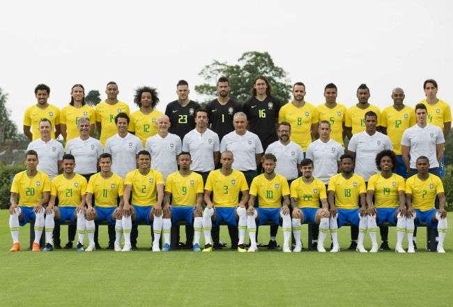 Brasil se enfrentará este domingo a Suiza. Foto: EFE