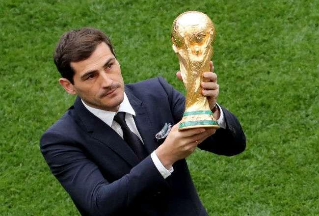 El trofeo tiene más de seis kilos de oro macizo. Foto: EFE