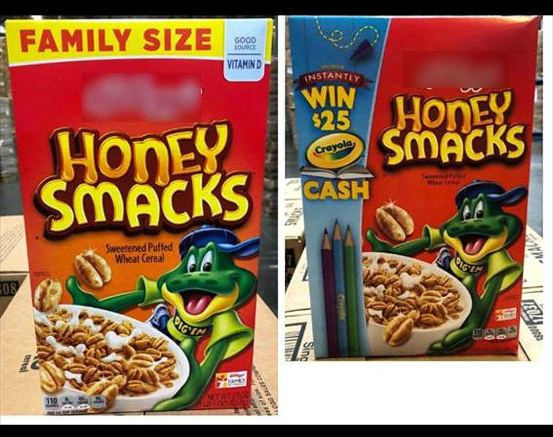 Se enfatiza en el comunicado de la FDA que ningún otro producto de la marca Kellogg es impactado por este retiro. Foto: @AUPSA_PANAMA