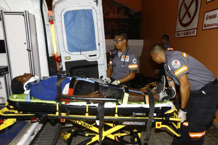 El conductor involucrado en el accidente se dio a la fuga de la escena del accidente. Foto: Alexander Santamaría