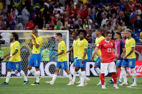 La selección de Brasil tuvo muchas oportunidades para quedarse con la victoria.Foto: EFE