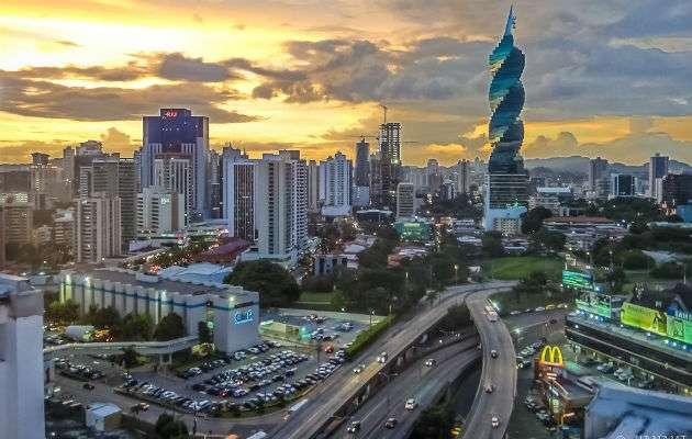 Vista general del área bancaria de la ciudad de Panamá. Foto: Archivo