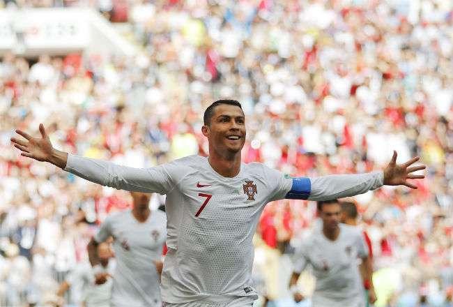 Cristiano Ronaldo acumula cuatro goles en el Mundial. Foto: AP