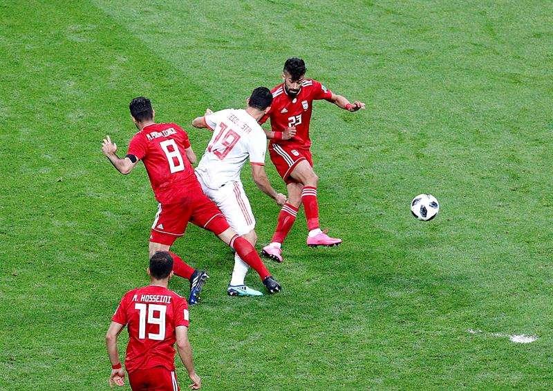 El seleccionador de Irán aseguró que sus jugadores fueron justos merecedores de un resultado mejor. Foto EFE