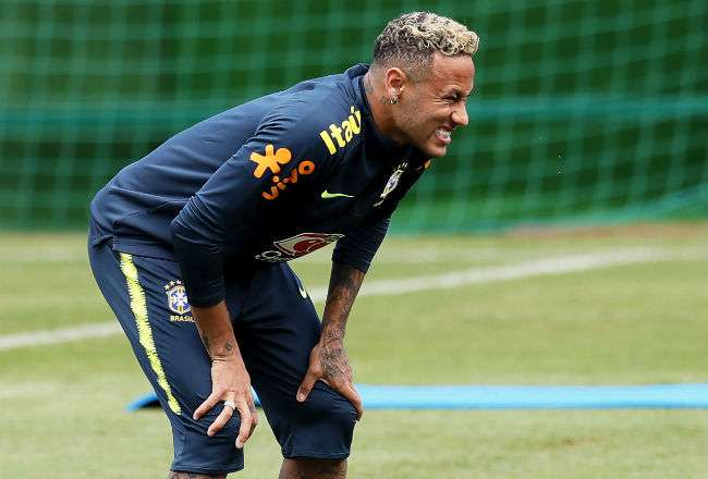 El jugador brasileño Neymar se encuentra mejor. Foto: EFE