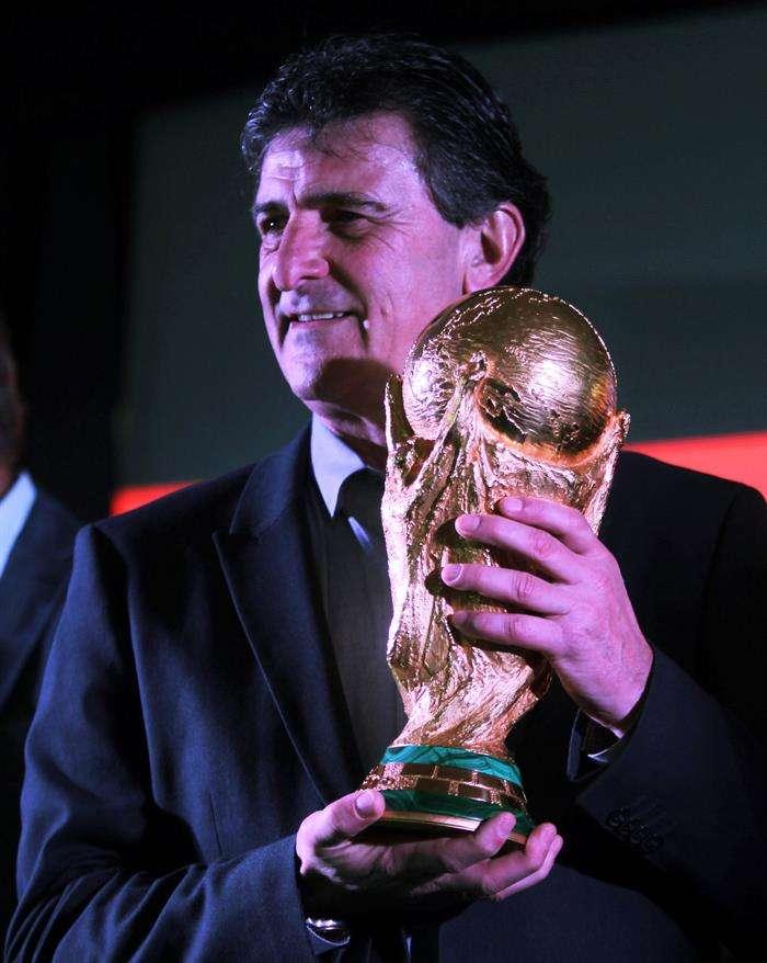 Mario Alberto Kempes, conquistó con la selección argentina en el Mundial de 1978. Foto EFE