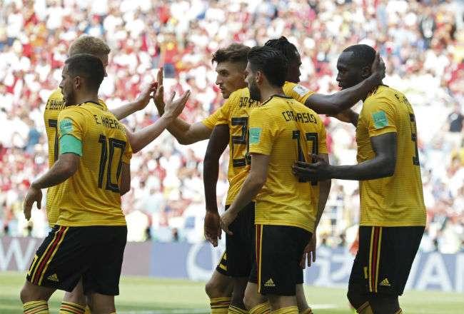 La selección de Bélgica tiene seis puntos. Foto: AP