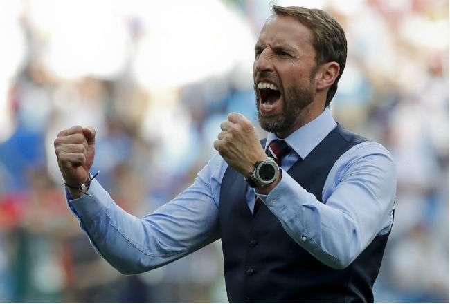 El entrenador Gareth Southgate. Foto: AP