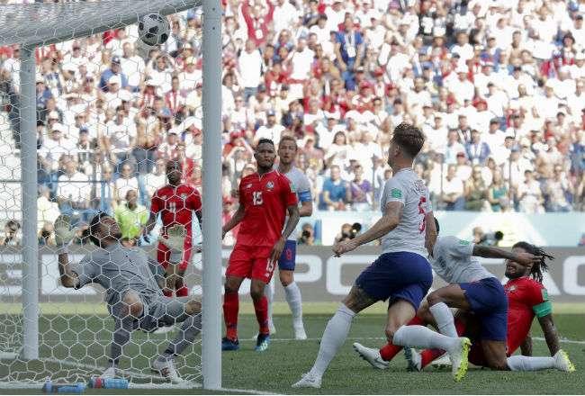 Panamá pierde 5-0 en el primer tiempo. Foto: AP