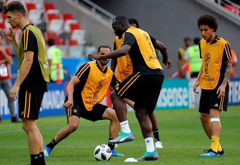 Bélgica se debate entre acabar primera o segunda de su grupo. Foto EFE