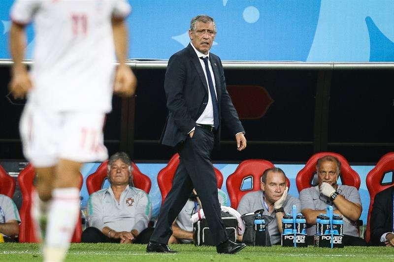 """Fernando Santos: """"El árbitro hizo su trabajo"""". Foto EFE"""