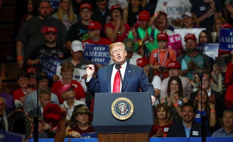El presidente estadounidense, Donald J. Trump. EFEArchivo