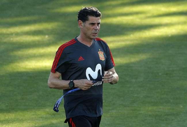 Fernando Hierro está en su primera experiencia como entrenador de la selección de España.