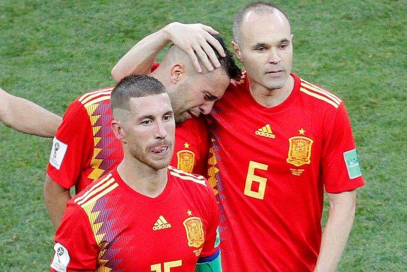 La selección de España no pudo clasificar a los cuartos de final. Foto:EFE