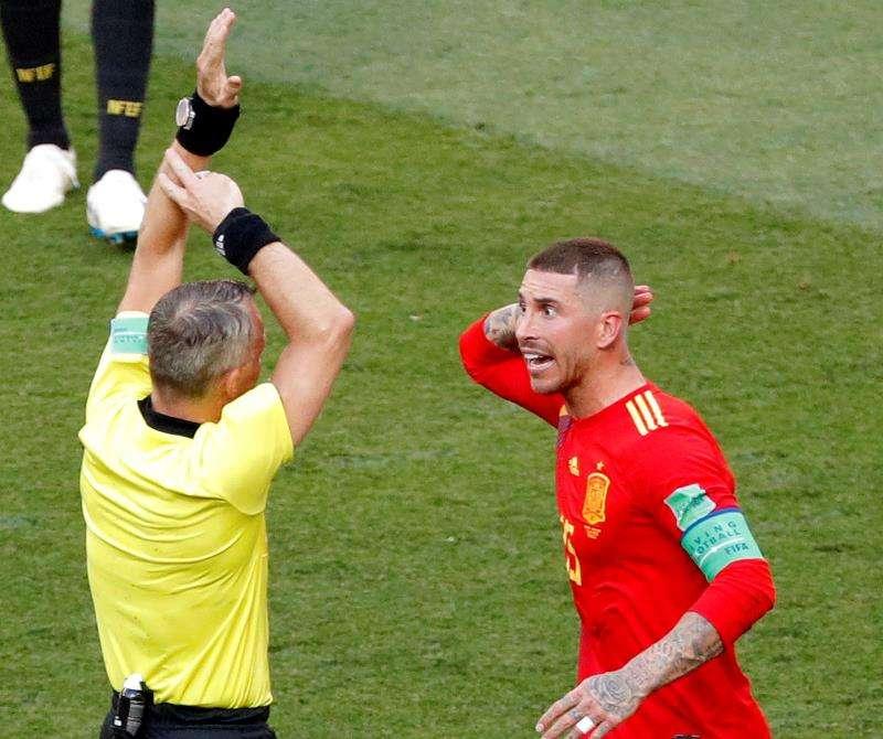 Sergio Ramos, capitán de la selección española. Foto: EFE