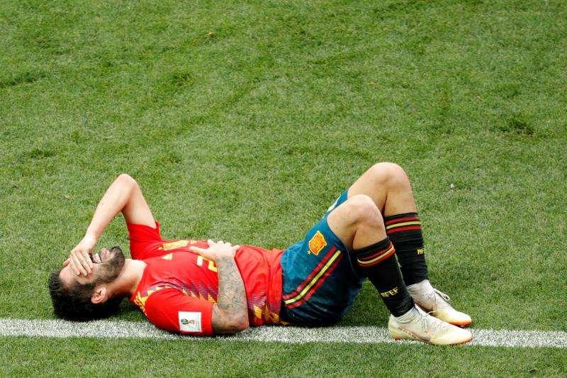 El jugador español Isco Alarcón. Foto:EFE