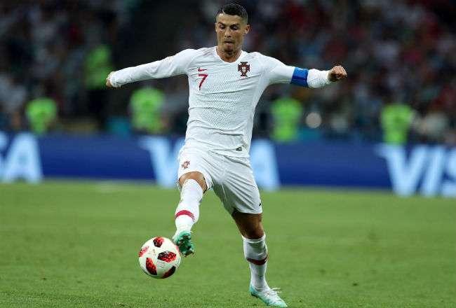 Cristiano Ronaldo marcó cuatro goles en el Mundial de Rusia 2018.