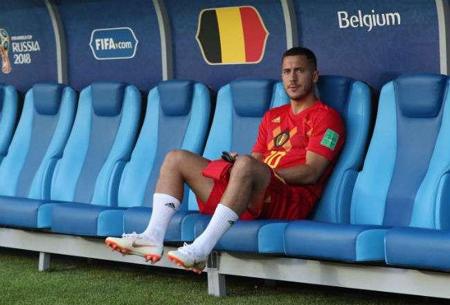 Eden Hazard es unas de las armas en el ataque de Bélgica.