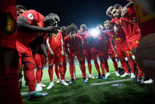 La selección de Bélgica le ganó 3-2 a Japón. Foto: EFE