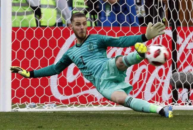 David de Gea, portero de la selección española. Foto:EFE