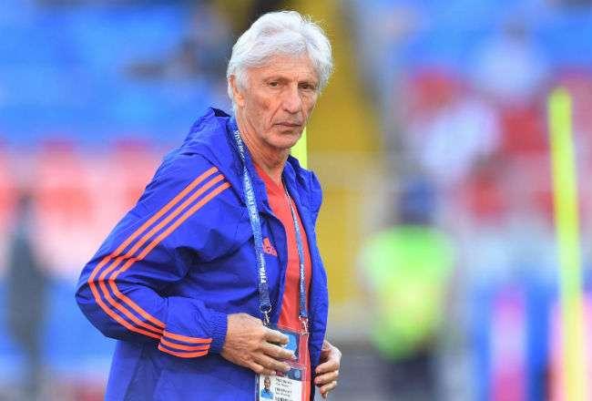 El entrenador de la selección de Colombia José Pékerman. Foto:EFE