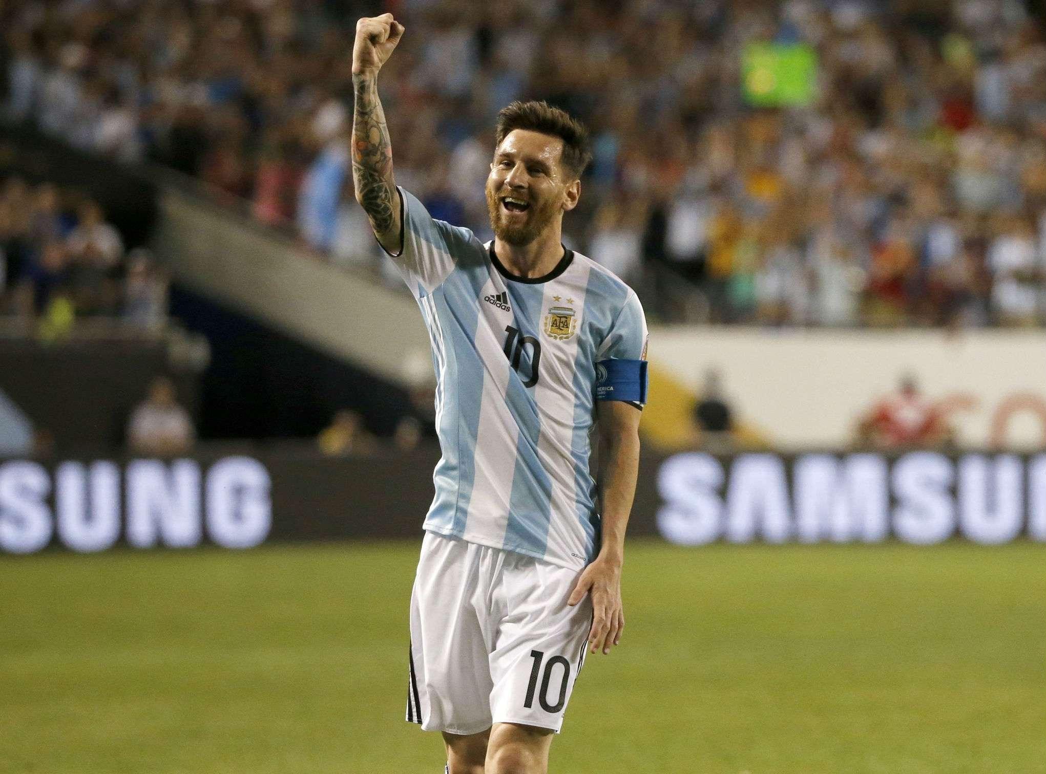 El jugador estrella de la selección de Argentina. Foto: EFE
