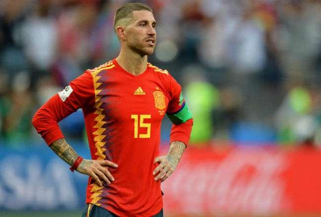 El jugador español Sergio Ramos. Foto: EFE