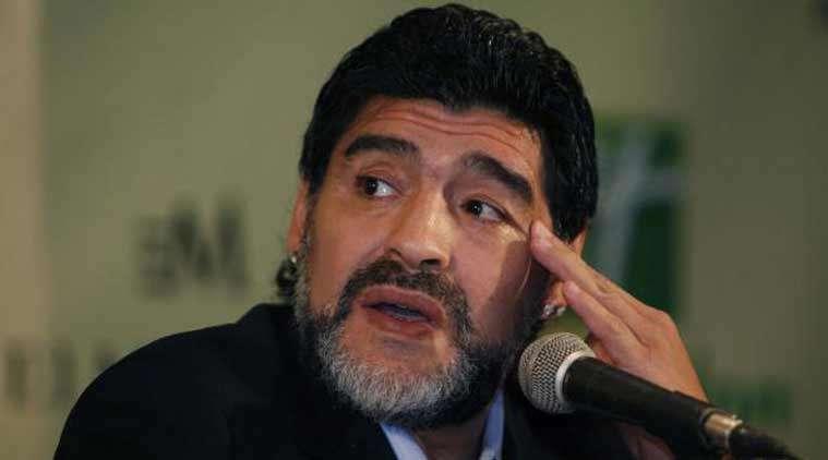 La FIFA había tolerado previos incidentes de Maradona en Rusia. Foto EFE