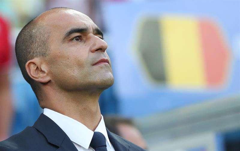 """Roberto Martínez: """"Brasil es favorito; eso nos coloca en un papel diferente"""". Foto EFE"""