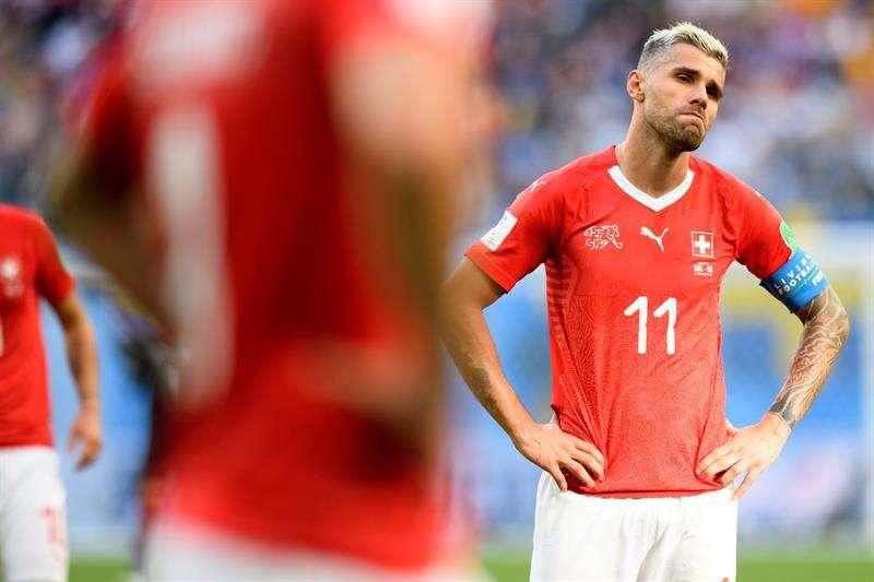 En los últimos tres grandes torneos, Suiza volvió a toparse con el muro de octavos de final ante Suecia. Foto EFE
