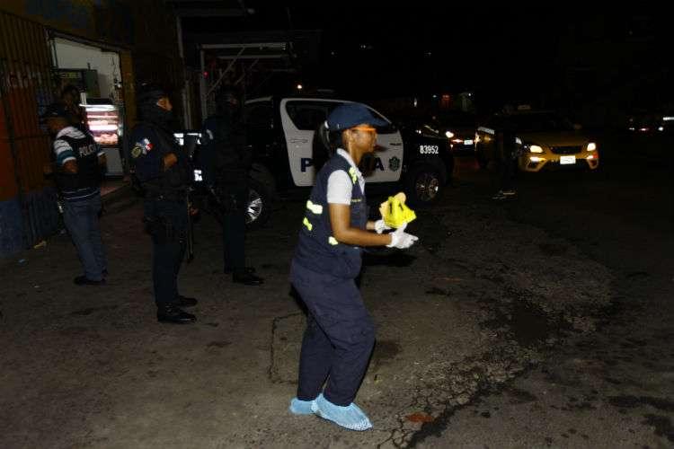 Vista general de la escena del crimen. Foto: Alexander Santamaría