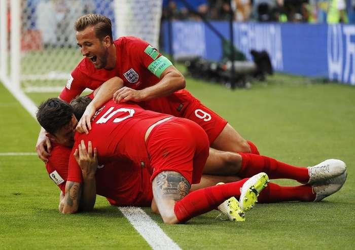Inglaterra, que llevaba 20 años sin aprovechar un córner en un Mundial, ya lleva cuatro tantos con saques de esquina./ AP